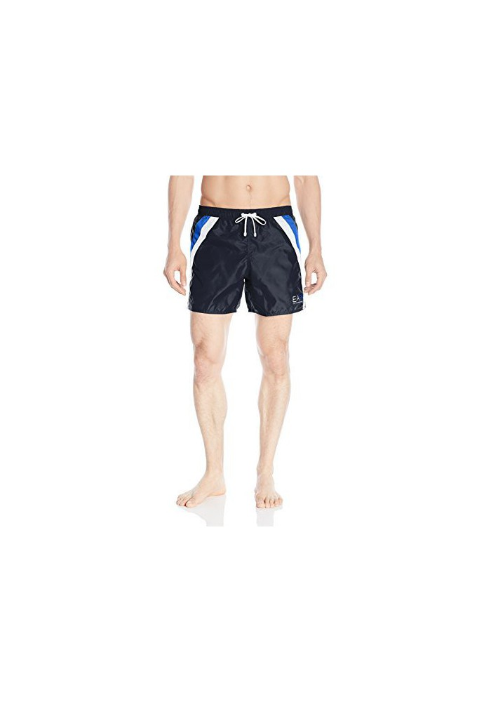 Emporio Armani Hommes -Block Sea World Swim Short