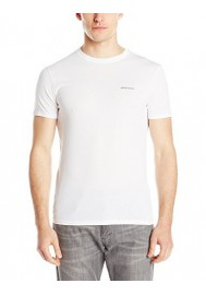 Armani Jeans Hommes Regular Fit T-Shirt Col Rond, White