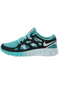 Nike Free Run+ 2 EXT 536746-300 Bleu Basket Running Femme