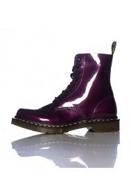 Bottes - Dr. Martens 8 EYE Spectra Patent Violet - Femmes