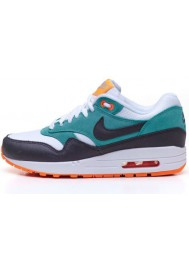 Basket Nike Air Max 1 Essential 599820-103 Orange Femmes Running
