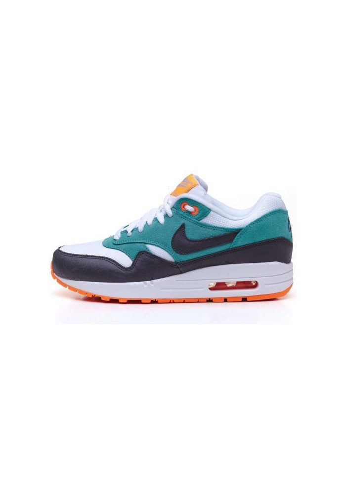 basket nike air max 1 essential 599820 103 vert femmes running. Black Bedroom Furniture Sets. Home Design Ideas