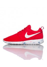 Nike Roshe Run Homme / Rouge (Ref : 669985-600) Running