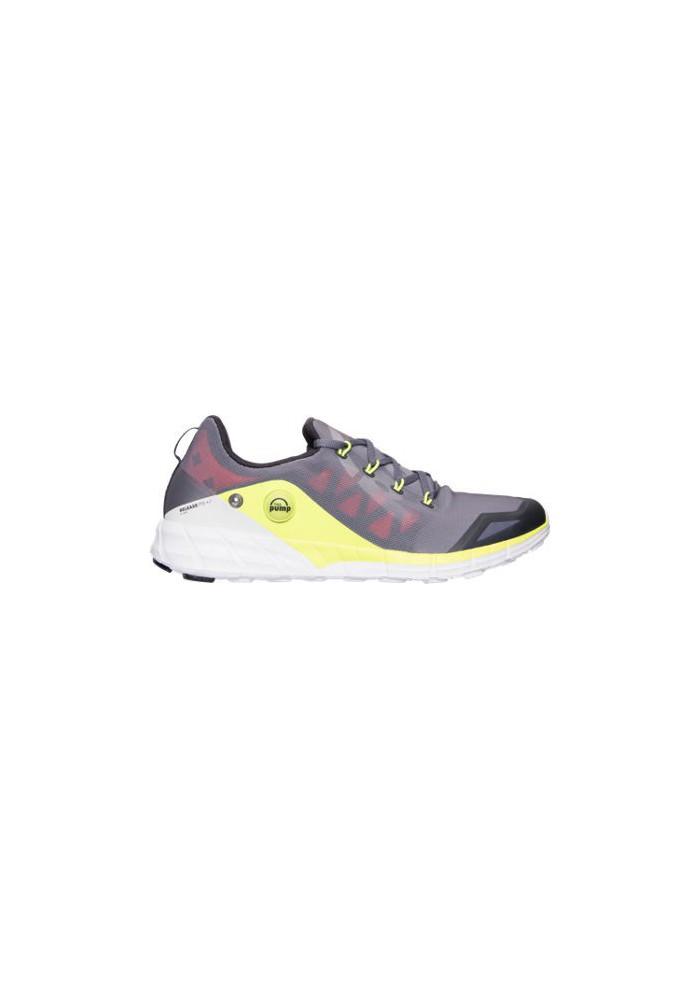 Chaussure Reebok Z Pump Fusion 2.0 Running Homme V68290 GYY AlloyTin GreySolar YellowCoalWhite