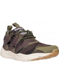 Chaussure Reebok Furylite GM Homme V67790-BLU Canopy Green/Coal/Stone/White