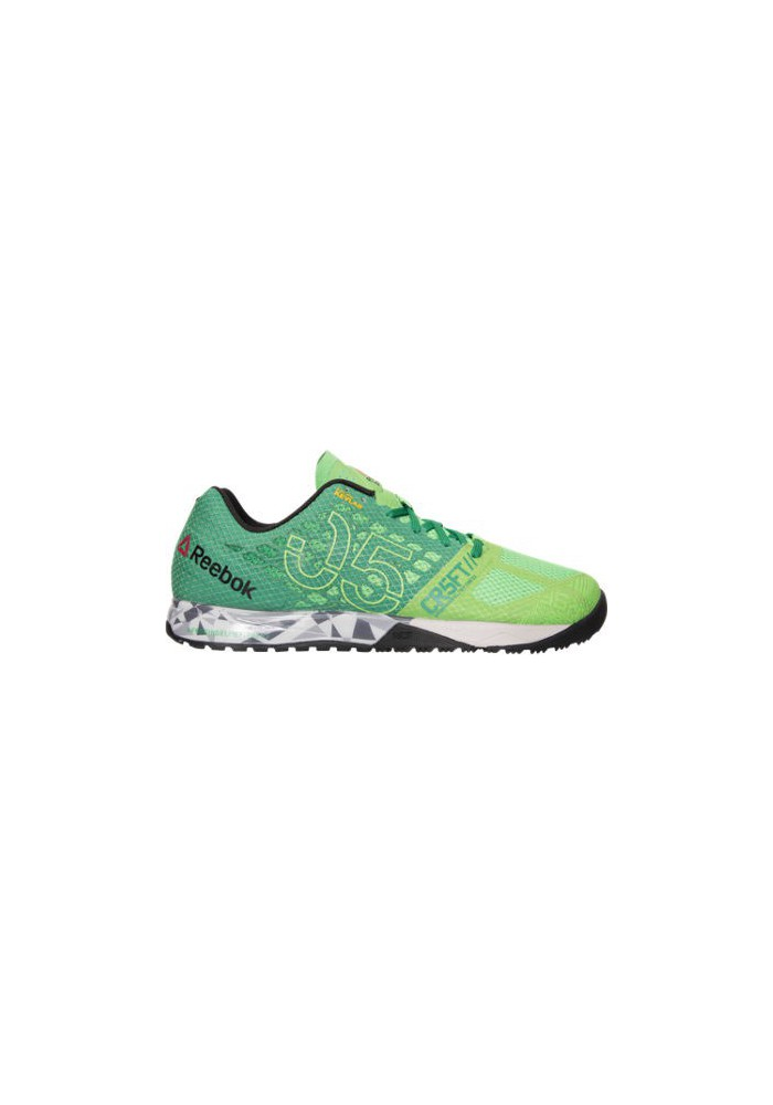 Chaussure Reebok Nano 5.0 Crossfit Training Homme V72412-GRG Bright Green/Basil/Green/Steel