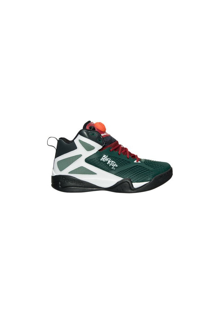 Chaussure Reebok Blacktop Retaliate Retro Basketball Homme M40823-GRN Green/Black/Red
