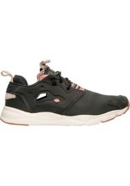 Chaussure Reebok Furylite GP Running Homme V67075-BLK Gravel / Chalk / Parchment
