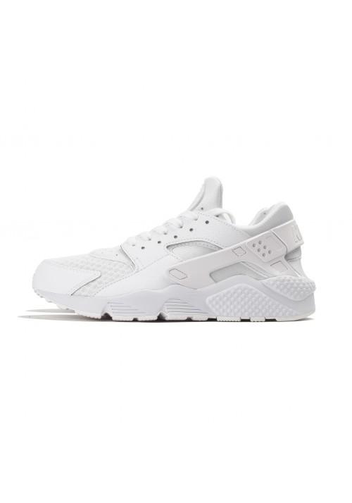Basket Homme Nike / Air Huarache / 318429-111 / Triple White
