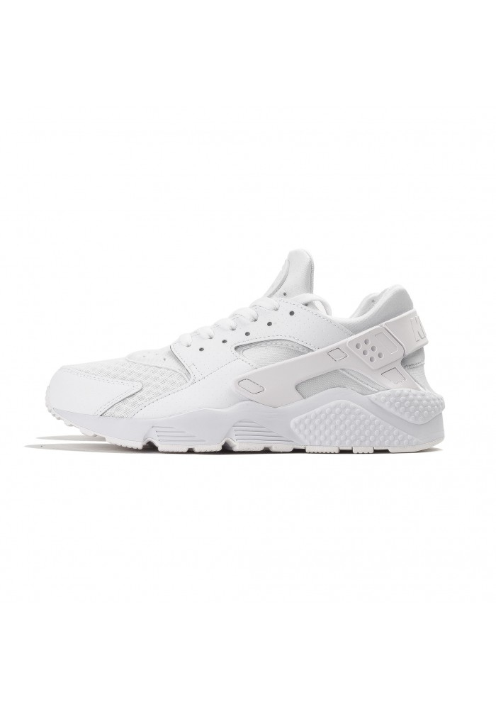 Basket Homme Nike / Air Huarache / 318429-111 / Triple White