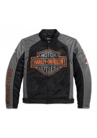Blouson Harley Davidson / Homme Bar & Shield Logo Coton Noir 98233-13VM