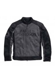Blouson Harley Davidson / Homme Coton Noir Willie G. Skull 98092-15VM