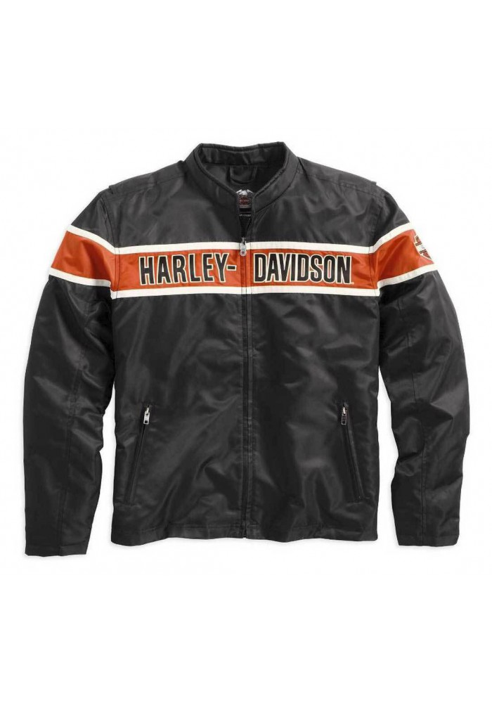 blouson harley davidson homme generations 98537 14vm. Black Bedroom Furniture Sets. Home Design Ideas