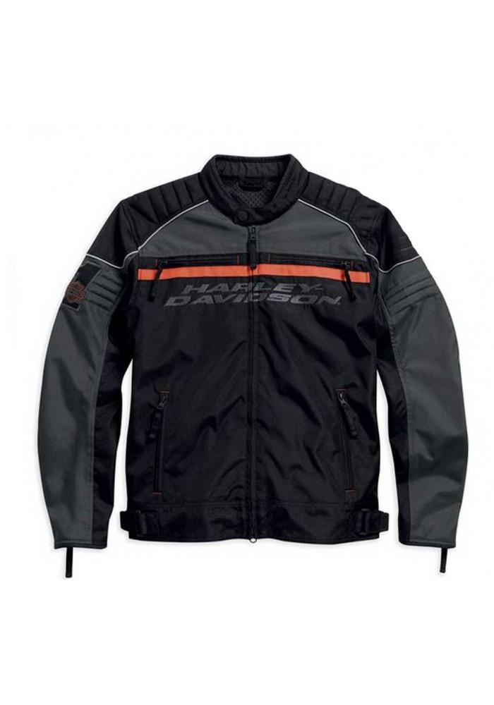 Blouson Harley Davidson / Homme Tactful Noir/Orange Polyester. 98083-15VM