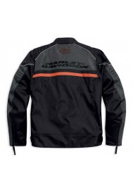 Blouson Harley Davidson / Homme Tactful Noir/Orange Polyester. 98083-15VM
