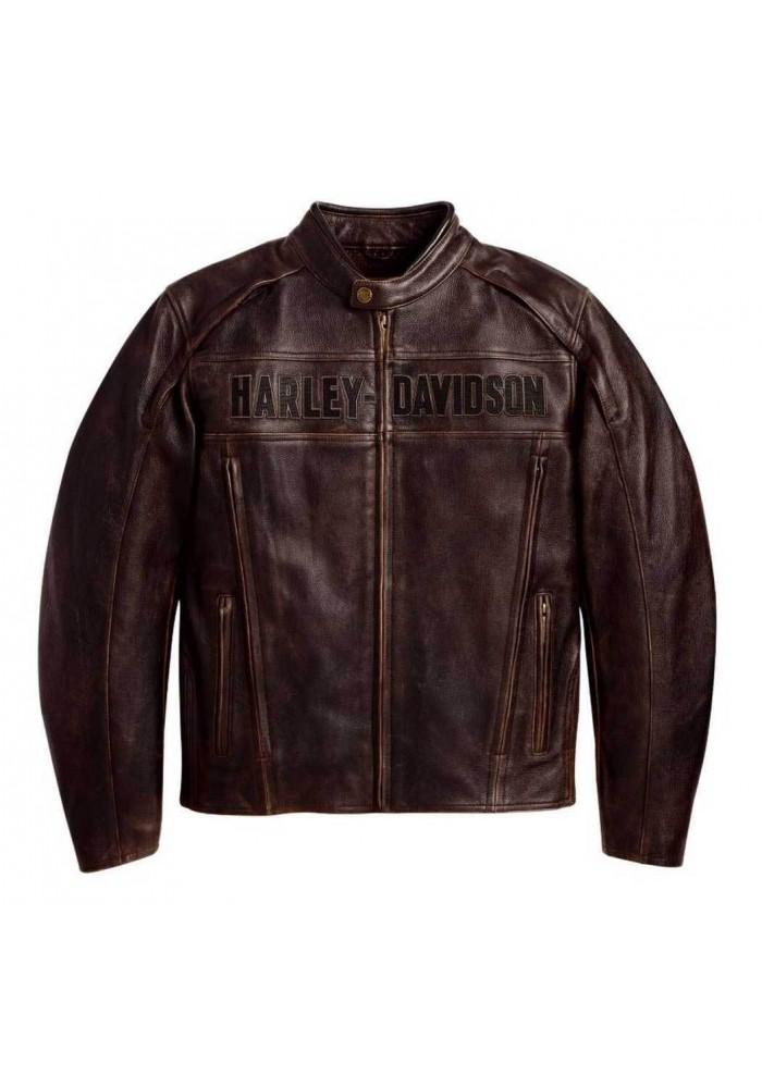 Blouson Cuir Marron Harley Davidson