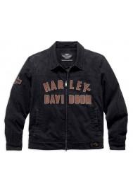 Blouson Harley Davidson / Homme Becher Garage Zip Noir 98569-16VM