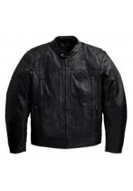 Blouson Harley Davidson / Homme Spoiler en Cuir Noir 98016-10VM