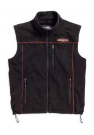 Blouson Harley Davidson / Homme Polaire Gilet sans manches Noir. 98567-16VM