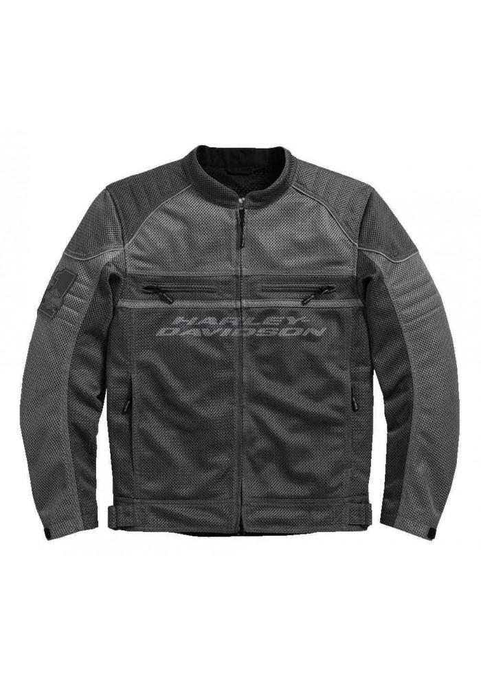 Blouson Harley Davidson / Homme Affinity Colorblocked Coton Noir 98296-17VM