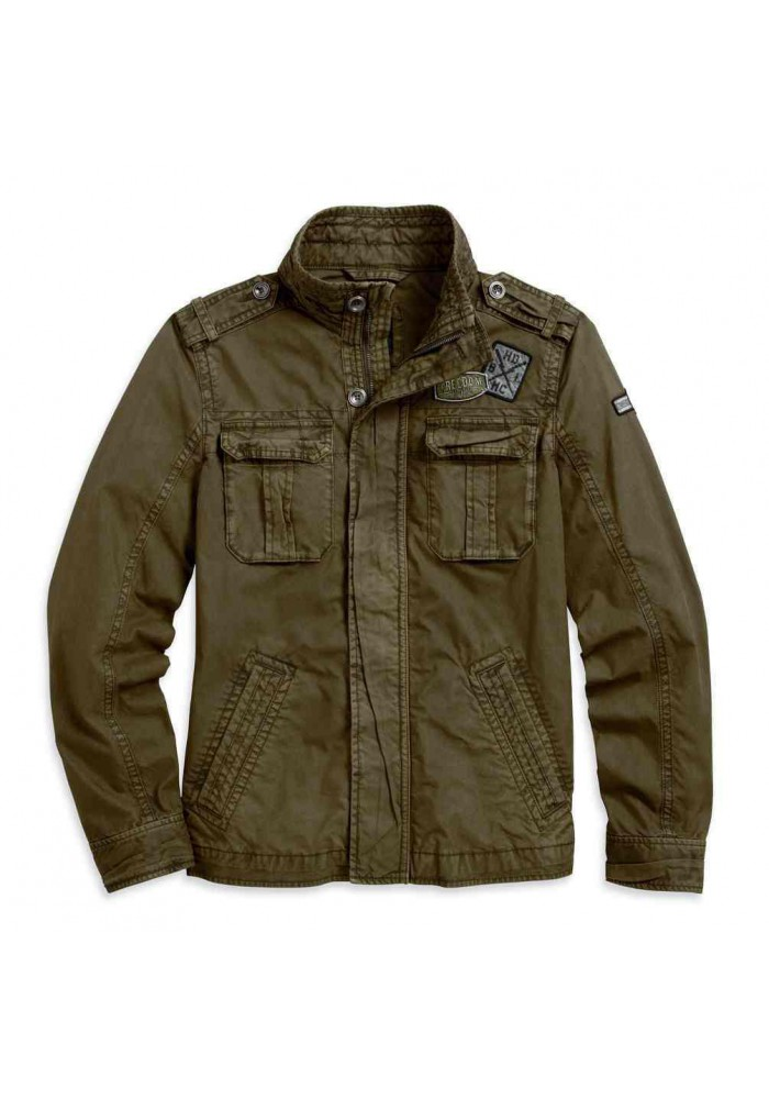 Blouson Harley Davidson / Homme Patch Cargo Classic Olive 97596-16VM
