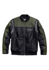 Blouson Harley Davidson / Homme Warwick Colorblocked Nylon Bomber 97586-17VM