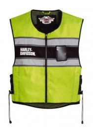 Blouson Harley Davidson / Homme Hi-Vis Yellow Gilet sans manches 98173-10VM