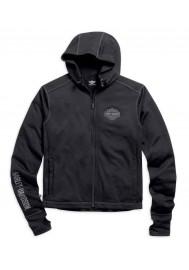 Blouson Harley Davidson / Homme Becher Garage Zip Noir. 98568-16VM