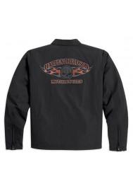 Blouson Harley Davidson / Homme Buring Skull Classic 98534-13VM