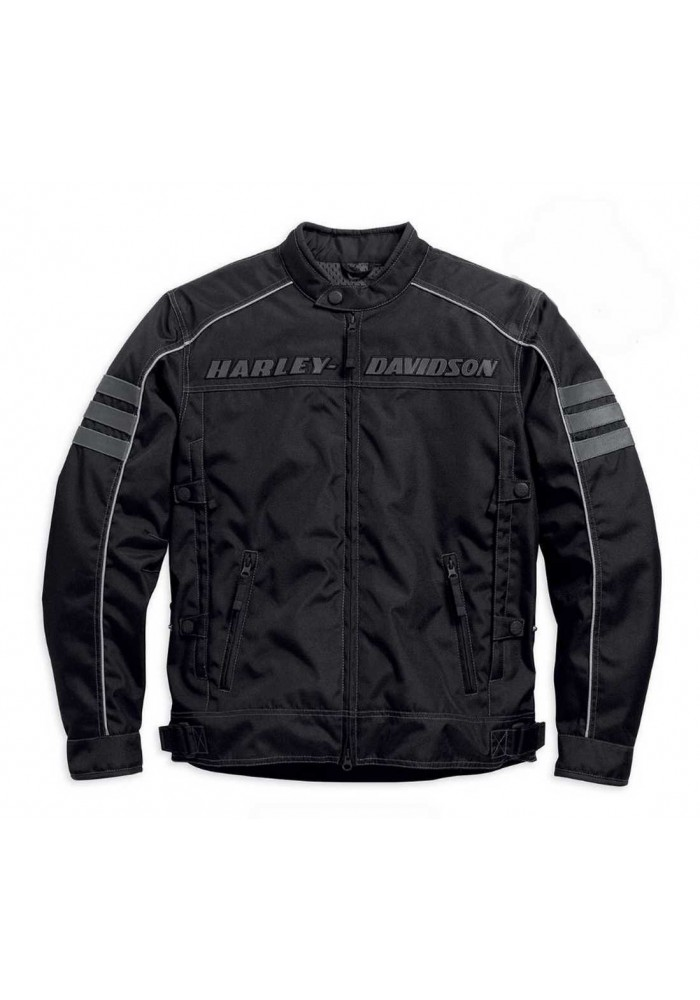 Blouson Harley Davidson / Homme Street Canon Noir 98084-15VM