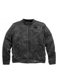 Blouson Harley Davidson / Homme Decklyn Distressed Classic Noir 97587-17VM