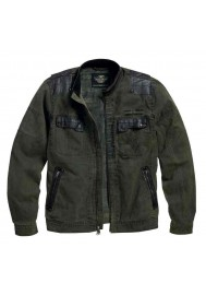 Blouson Harley Davidson / Homme High-Ace Cotton Canvas Classic Vert 97568-16VM