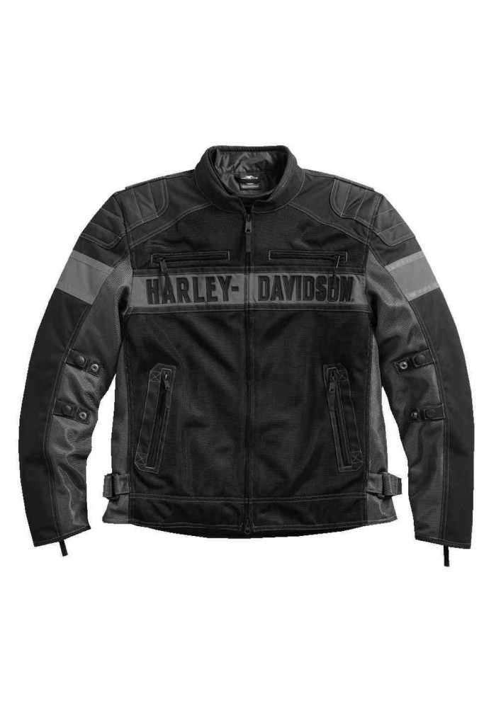 Blouson Harley Davidson / Homme Mecca Colorblocked Coton 98295-17VM