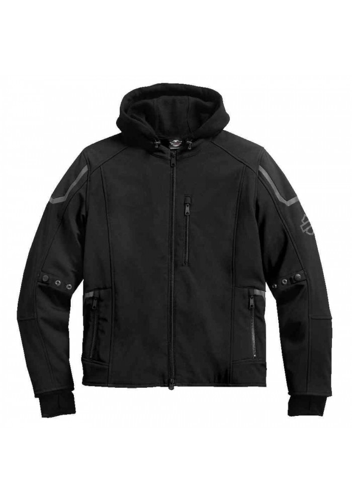 Blouson Harley Davidson / Homme Zealot 3-IN-1 Soft Shell Noir 98294-17VM