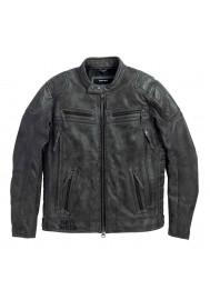 Blouson Harley Davidson / Homme Carboy en Cuir Charbon 97105-16VM
