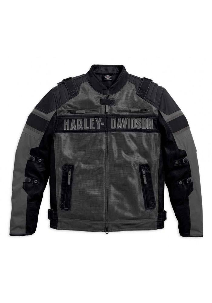 Blouson Harley Davidson Homme / Codec Textile & Coton Noir 97141-17VM