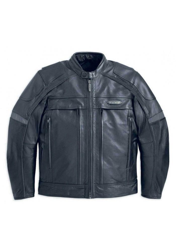 98040 Fxrg hombre Leather 12vm Davidson para Harley Chaqueta PkXZuwiTO