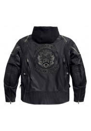 Blouson Harley Davidson Homme / Triple Vent System Combustion en Cuir 97093-16VM