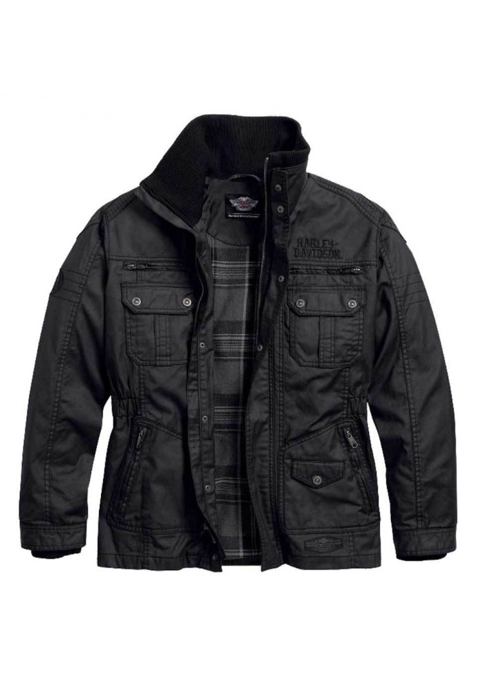 Blouson Harley Davidson Homme / Out-Of-Reach Rugged Waxed Classic 97559-16VM