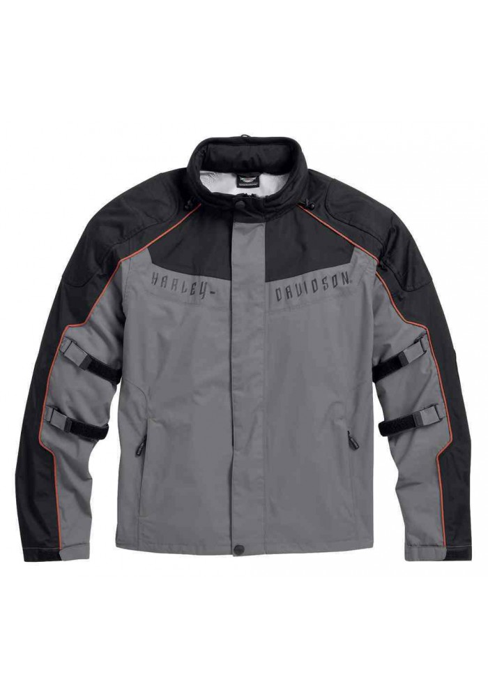 Blouson Harley Davidson Homme / Chimera 3-in-1 Waterproof Noir/Gris 97108-16VM