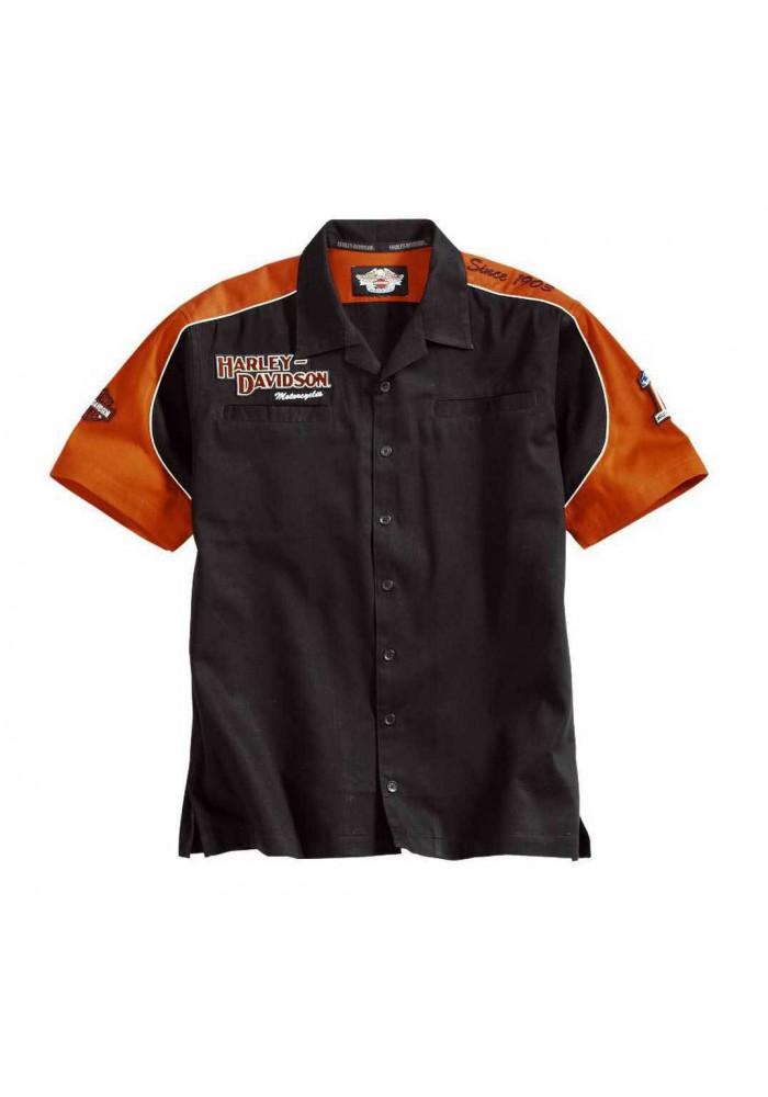 Harley Davidson Homme Prestige Garage Chemise Manches courtes 99250-06VM