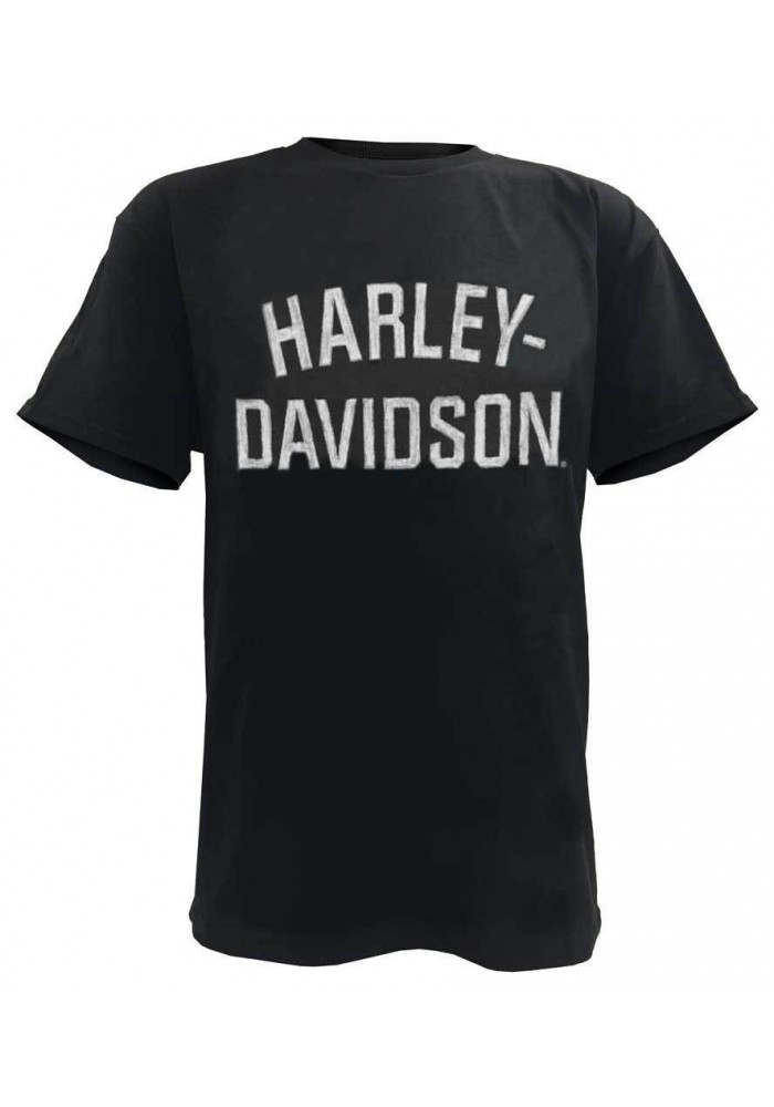Harley Davidson Homme Tee Shirt, Heritage H-D Manches Courtes , Noir 30296630