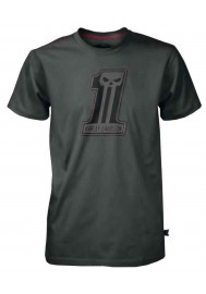 Harley Davidson Homme Black Label Stitch Tee Shirt Manches courtes Gris 30291526