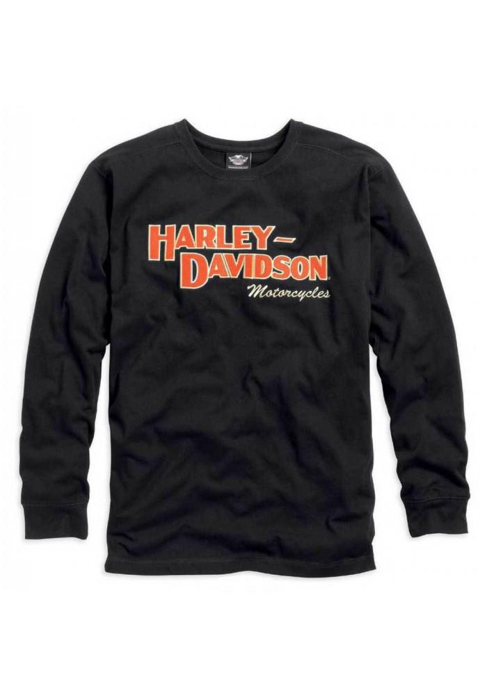 Harley Davidson Homme Prestige Manches Longues Noir 99089-14VM