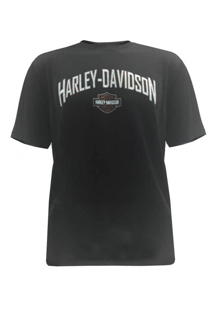 Harley Davidson Homme Iron Tee Shirt Manches courtes, Moisture Wicking 5B36-HB5Y