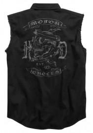 Harley Davidson Homme MC Skull Sans Manches Blowout Chemise, Noir 96414-17VM