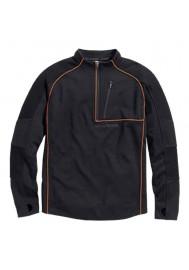 Harley Davidson Homme Athletic Rouge Pullover, Noir/Orange 96090-16VM