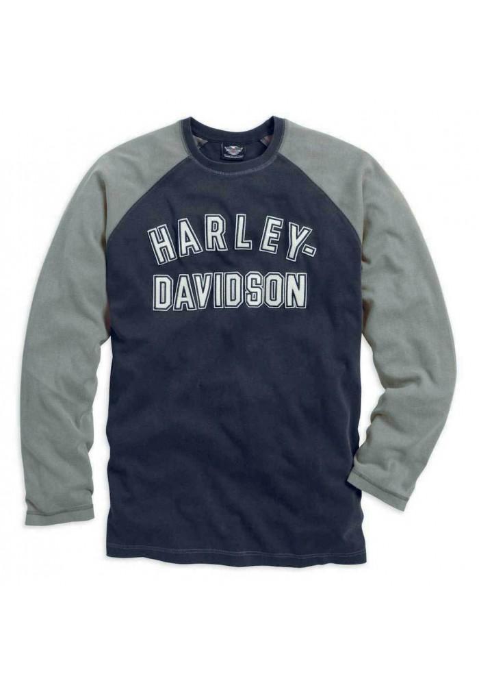 Harley Davidson Homme Genuine Classics Manches Longues Noir 99098-14VM