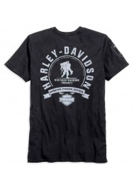 Harley Davidson Homme Wounded Warrior Project T-Shirt Manches Courtes 99060-16VM