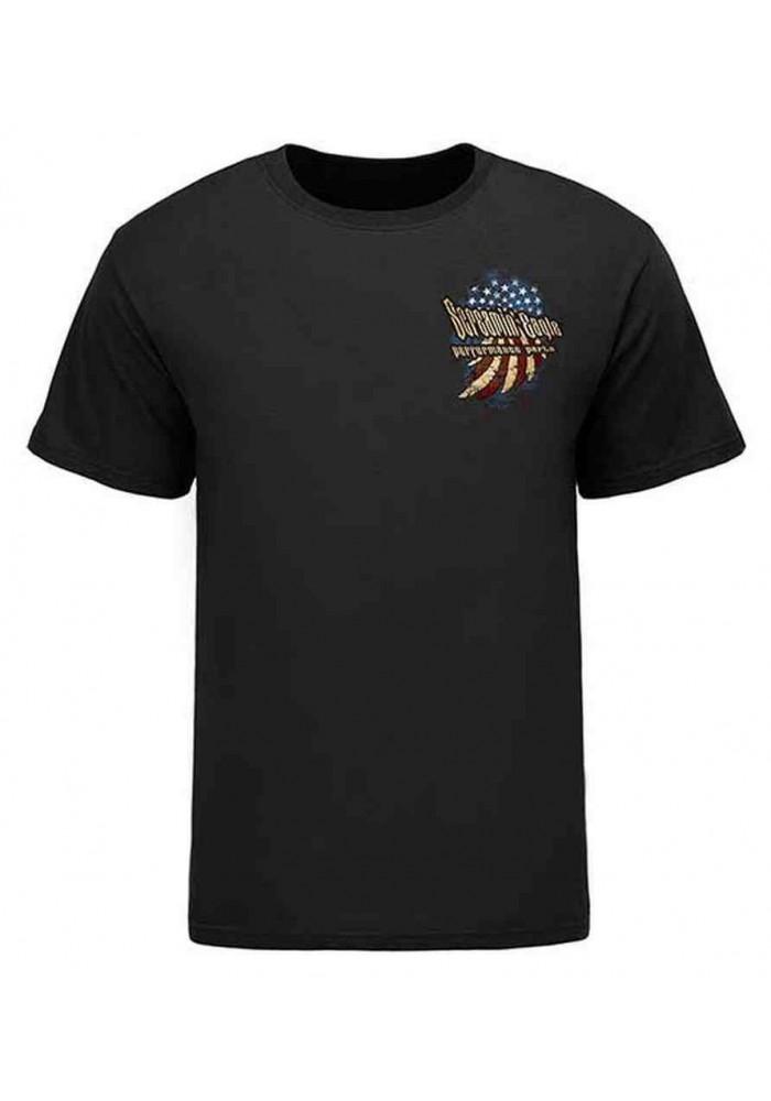 Harley Davidson Homme Eagle Eagle Stars Tee Shirt Manches Courtes HARLMT0226